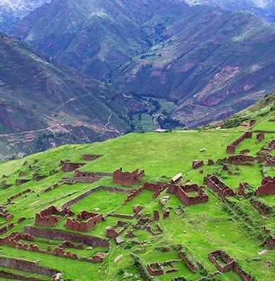 Caminata Huchuy Qosqo a Machu Pichu 2 dias / 1 noche