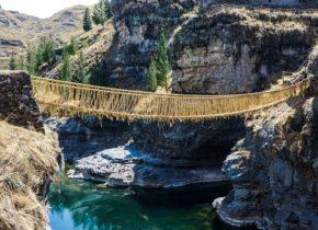 Puente Q'eswachaka y 4 lagunas Full Day 40 USD